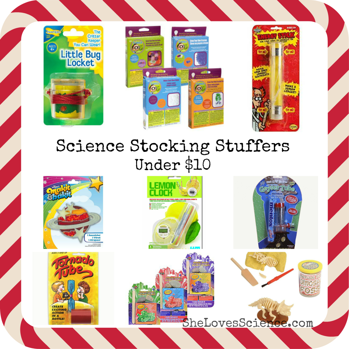 Science Stocking Stuffers Under $10