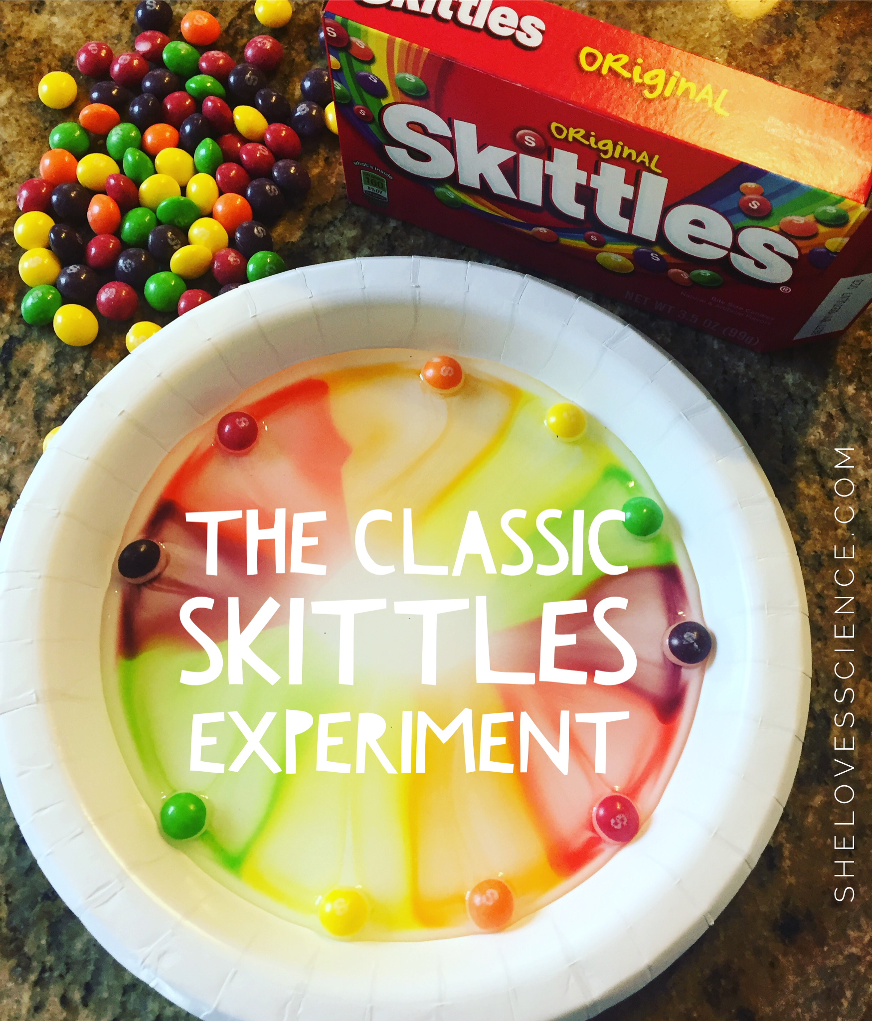 a skittle of milk essay Skittles losing their color in water grace seidel cary academy abstract the purpose of this study was to test how long it took for the outer color layer of a skittle.