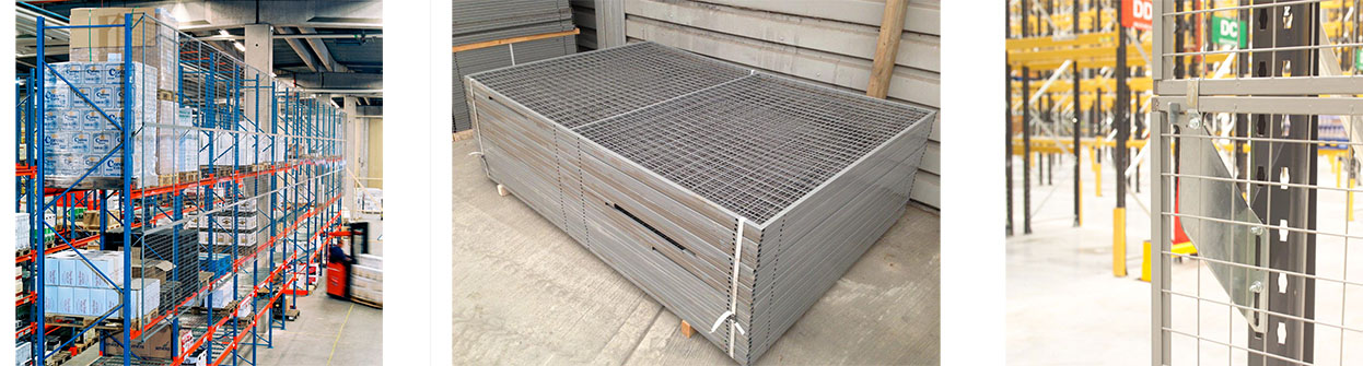 Anti-collapse Warehouse Wire Mesh