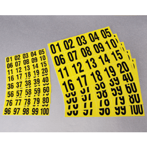 Magnetic Number Labels