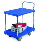 Plastic Platform Warehouse Trolley