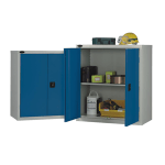 Low warehouse cupboard