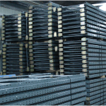 Used pallet racking frame, Used Dexion Speedlock pallet racking frame