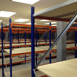 New industrial longspan shelving
