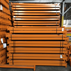 Used Apex industrial racking