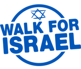 walk for israel logo