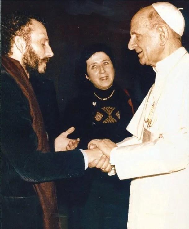 NEOCATECUMENALI Paolo VI riceve Kiko e Carmen
