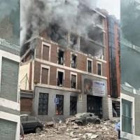 Madrid, forte esplosione in centro parrocchiale