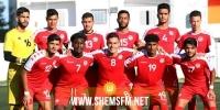 تشكيلة المنتخب الوطني للأواسط في مباراته الودية ضد موريتانيا
