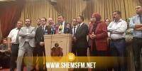 الصحفيون يقاطعون ندوة صحفية لائتلاف الكرامة وقلب تونس بسبب سيف الدين مخلوف