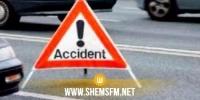 توزر: وفاة شخصين وإصابة ثالث بجروح بليغة في حادث مرور