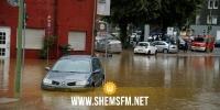 قتيل وإجلاء مئات السكان إثر فيضانات عارمة في ألمانيا