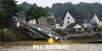 إجلاء المئات بسبب فيضان أحد السدود في غرب ألمانيا
