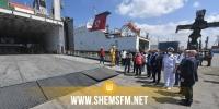 تونس تتسلم حاويتين محملتين بمعدات ومستلزمات طبية ممنوحة من قبل إيطاليا