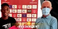 النجم الساحلي يعلن عن انتداب لاعب غاني