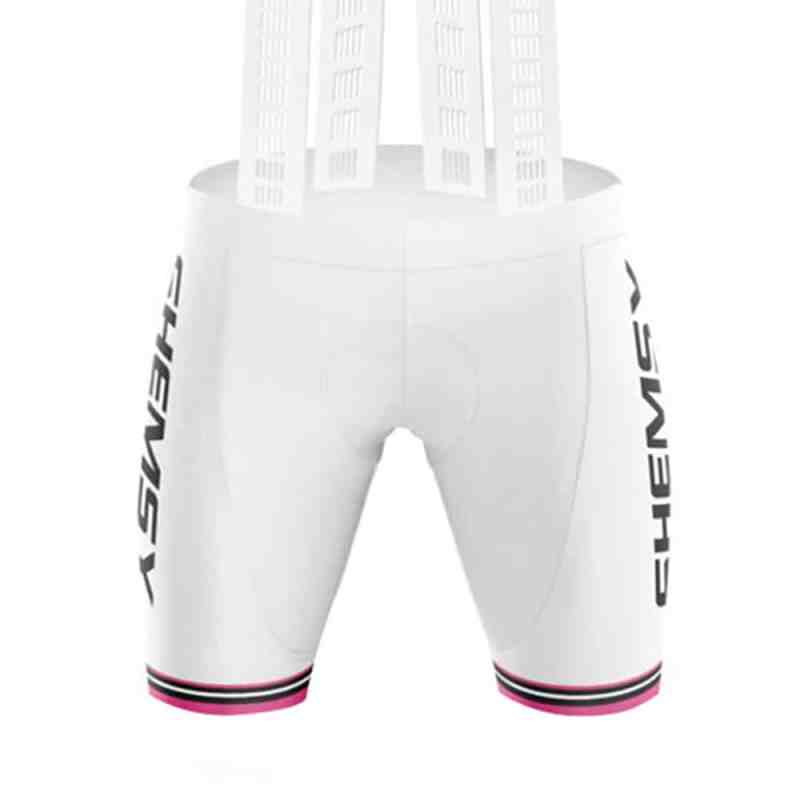cuissard cycliste coupe femme Shemsy Rider blanc