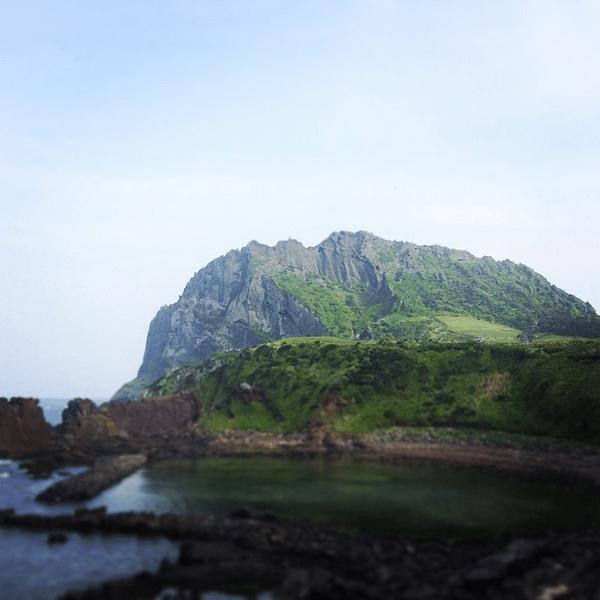 Seongsan Ilchulbong Peak, South Korea