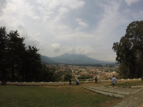 Lookout point, Antigua, Guatemala