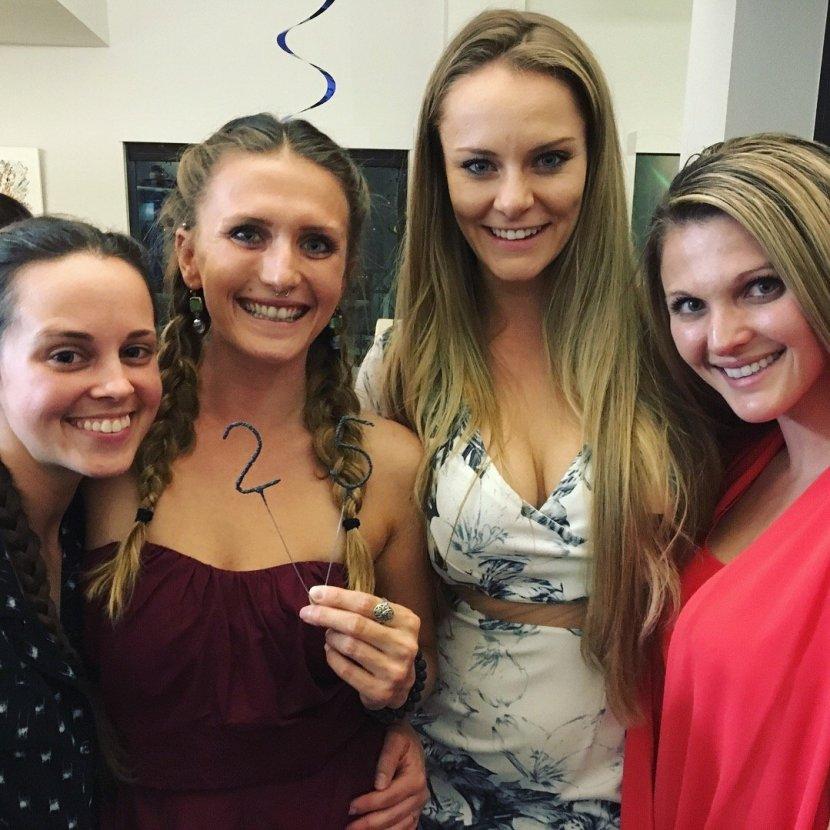 four-girls-25-birthday-party