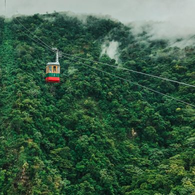 teleferico cable car in puerto plata