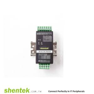 Industrial RS-422/485 Repeater 3KV Isolation 600W Surge Converter. With DIN Rail Kit