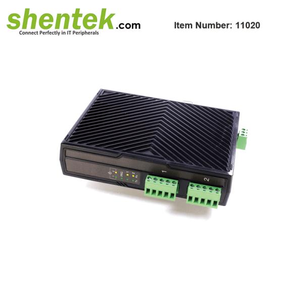 shentek-11020-2-port-RS422-RS485-serial-device-server