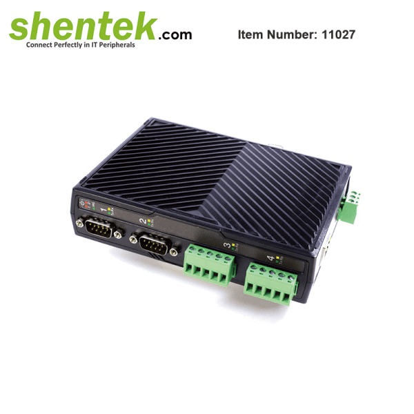 shentek-11027-serial-device-server-RS232-RS422-RS485
