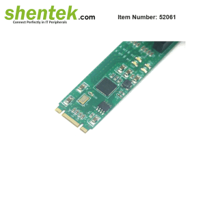2 port SATA 10G M.2 Card supports Hardware Raid 0/1
