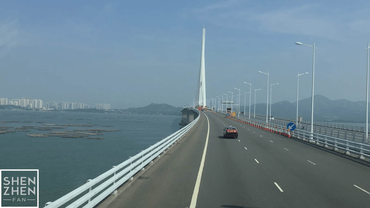 shenzhen bay bridge