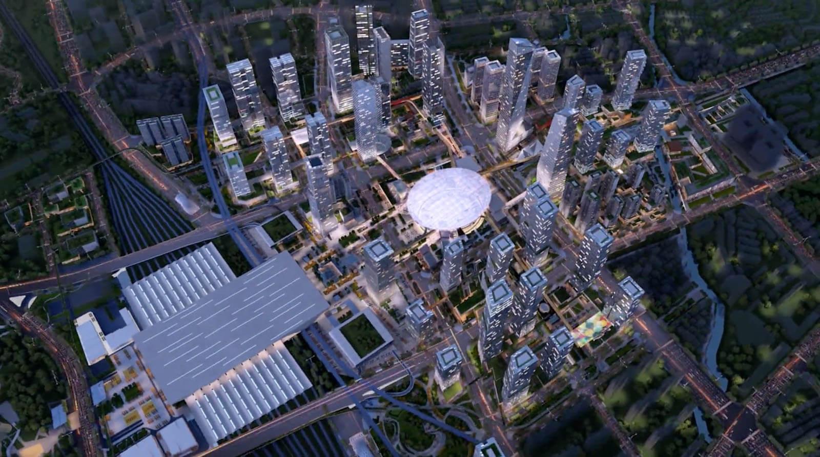 【深セン北駅】日本設計がコンペ1位!新都市計画設計案詳細情報