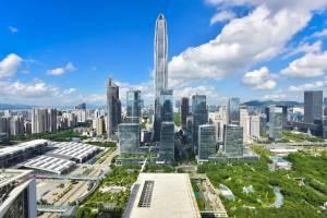 深センの2021年上半期GDPは1兆4,300億元を突破:主要都市第3位