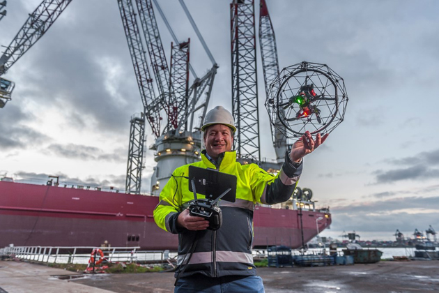 RIMS offers offshore UAV inspections
