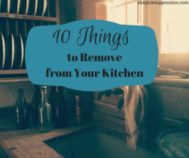 10 Things Remove Kitchen