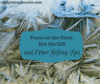 Focus on the Giver, Not the Gift