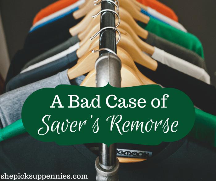 Saver's Remorse