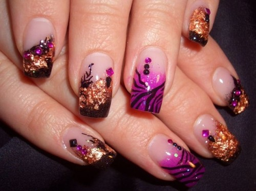 Latest Nail Polish Designs For Women In Winter 2016