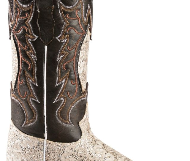 Tanner Mark Womens Fashion Dragon Cowgirl Boots Square Toe Hi Res