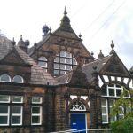 shepley first school building