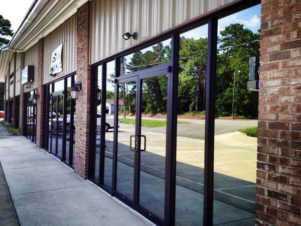 Commercial Glass Installation Sheppards Glass