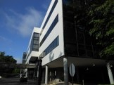 photo of front of Sheps Center Building on an angle