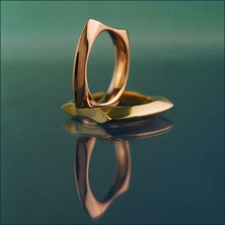 Rose gold & yellow gold Sliver rings
