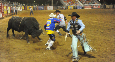Wednesday, July 9, 2014 – Sheridan WYO Rodeo Performance