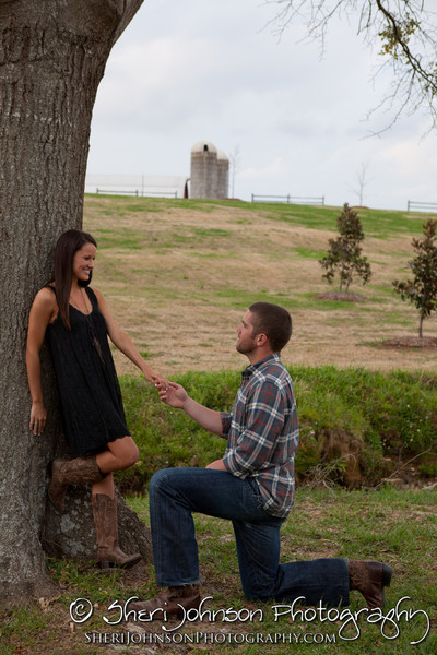 Engagement session in Auburn, Alabama