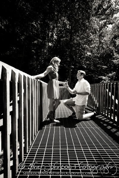 Christie & Steve's Amicalola Falls Engagement Photo Session in Dawsonville GA