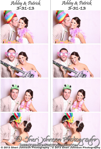Bride & Groom in the Photo Booth, Cumming, GA