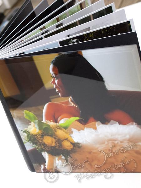 Modern Wedding Album from Atlanta Wedding Photographer Sheri Johnson