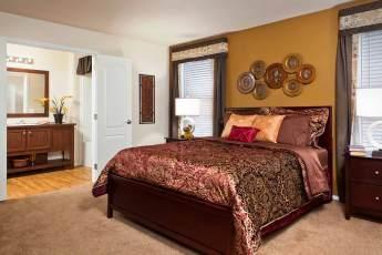 Heritage Jefferson Master Bed