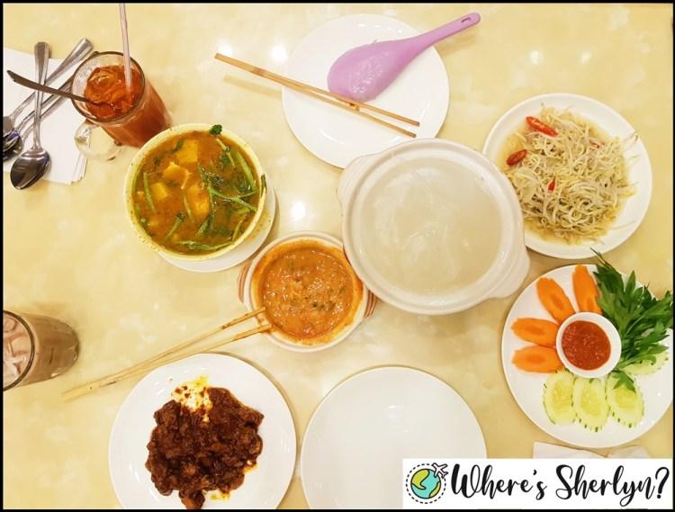 Brunei Restaurants: Ambuyat and more at Aminah Arif Restaurant! :)
