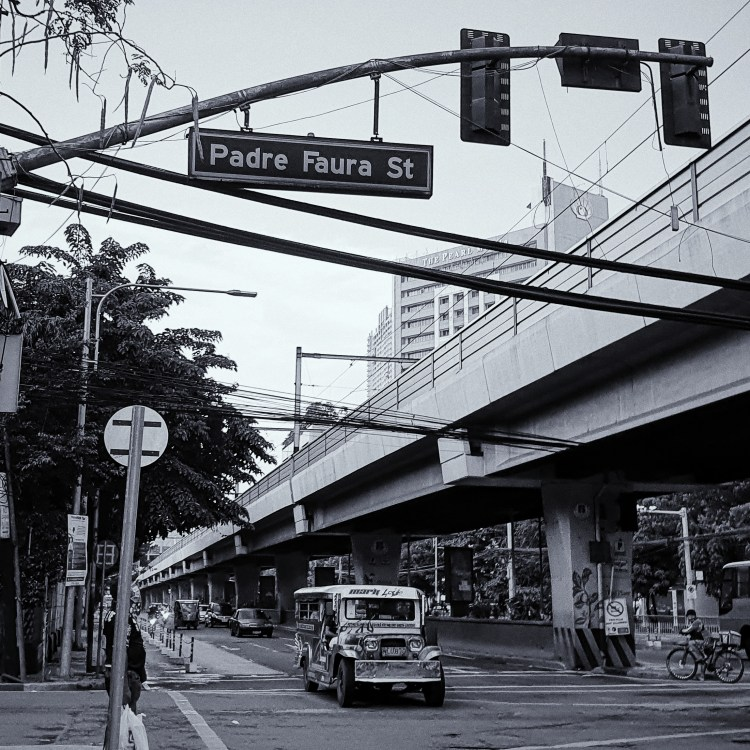 Street Photography in Manila, Philippines - Jeepney in Padre Faura Street