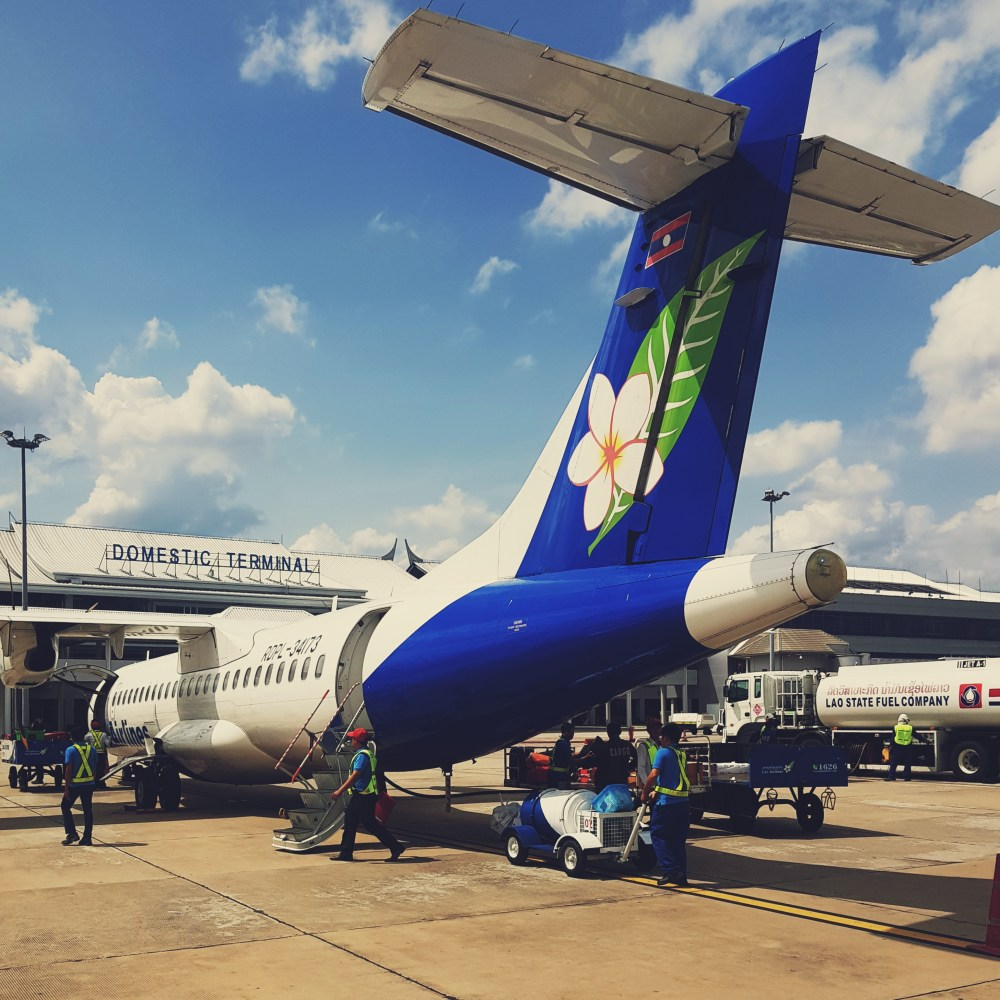 Flying with Lao Airlines